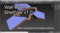 SehllVex geometry and Brush plugin.