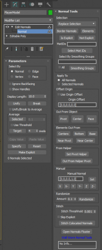 Edit Normals with Normal Tools